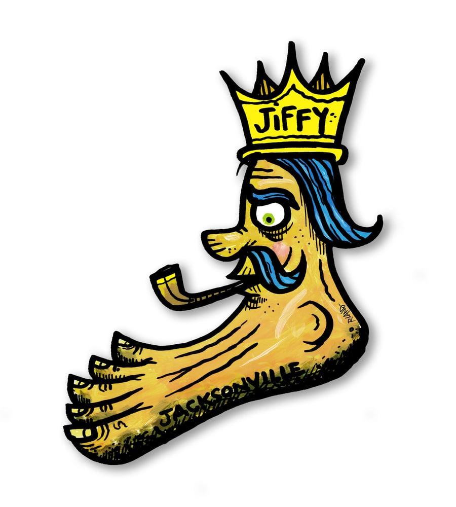 Image of Jiffy King Wall Art
