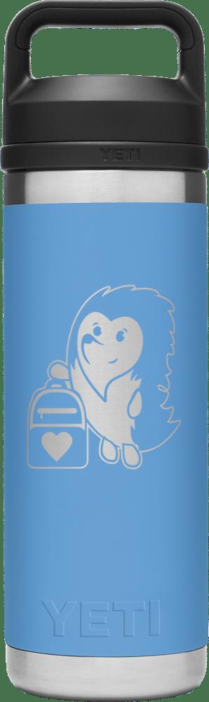 Image of Carrying Hope - 18 oz. Yeti Rambler Chug Water Bottle