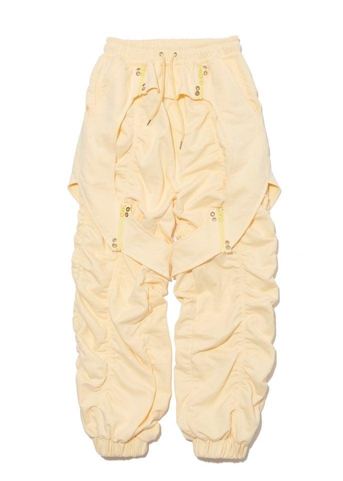LEMON YELLOW SWEAT PANTS
