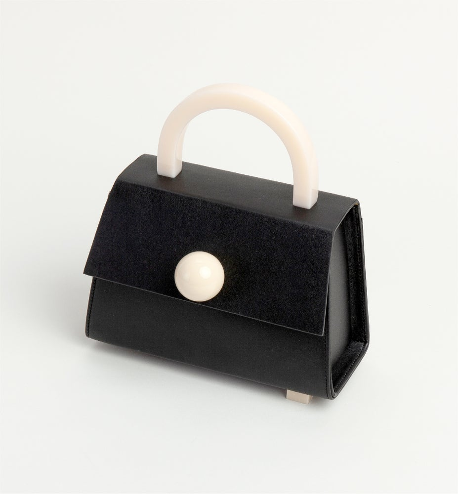 Image of Diva satchel bag • Black with strap - Limited quantities