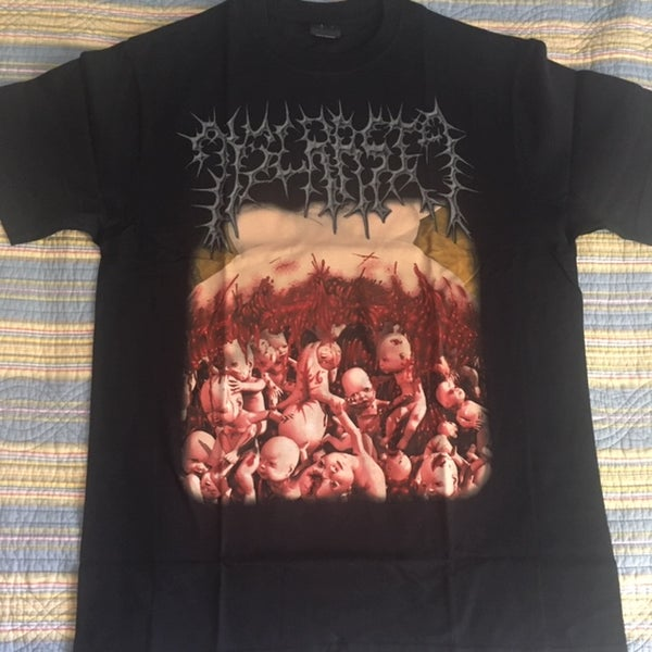 "Image of DYSCRASIA ""Genocide Of The Unborn"" T-SHIRT"