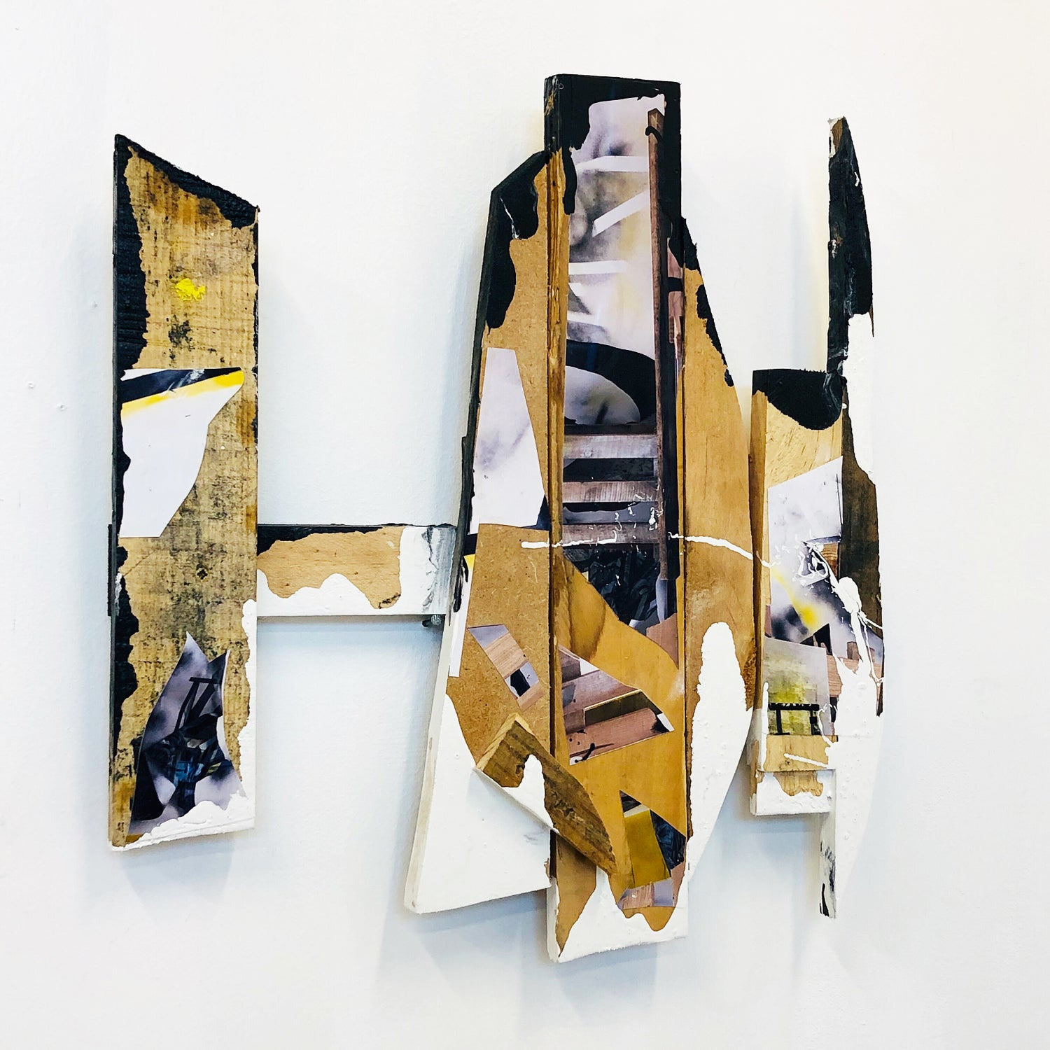 "Image of LOUISA MARAJO  ""PIECE OF WOOD"" 2019"