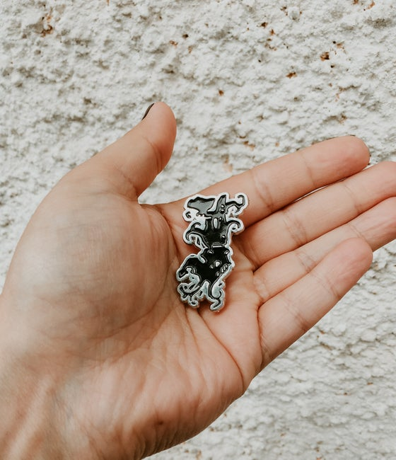 "Image of Igorrr ""Monolith"" Pin"