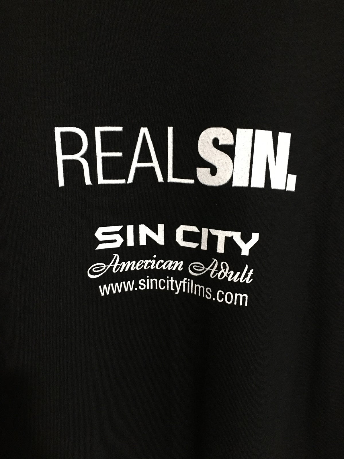 90's Sin City Films Real Sex Real People Tee