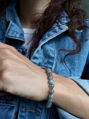 Image of Bracelet labradorite taille S