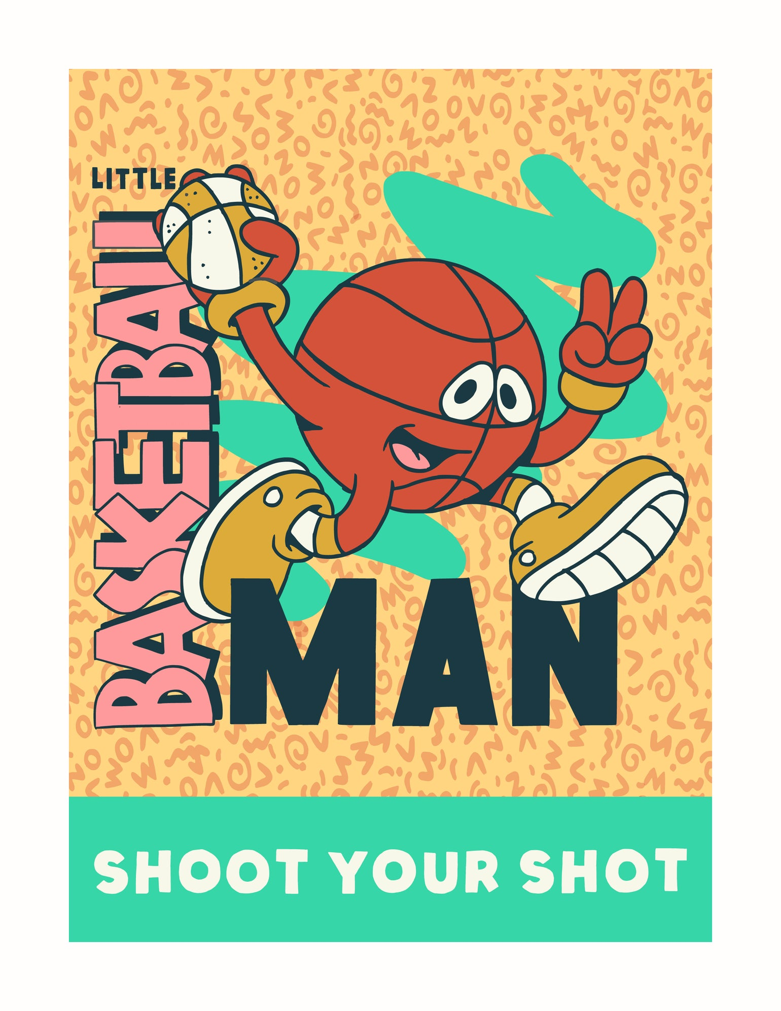 Image of Little Basketball Man 90s Edition
