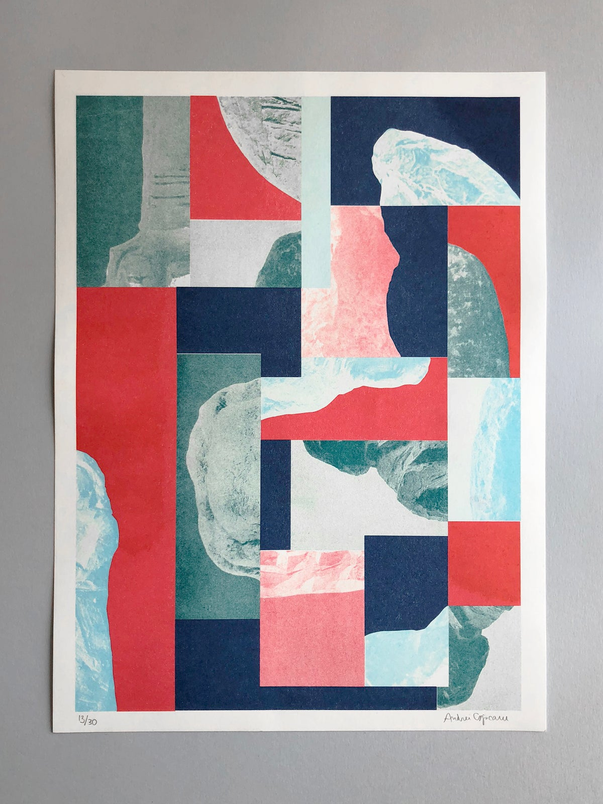 FRACTURES_001 Riso Print