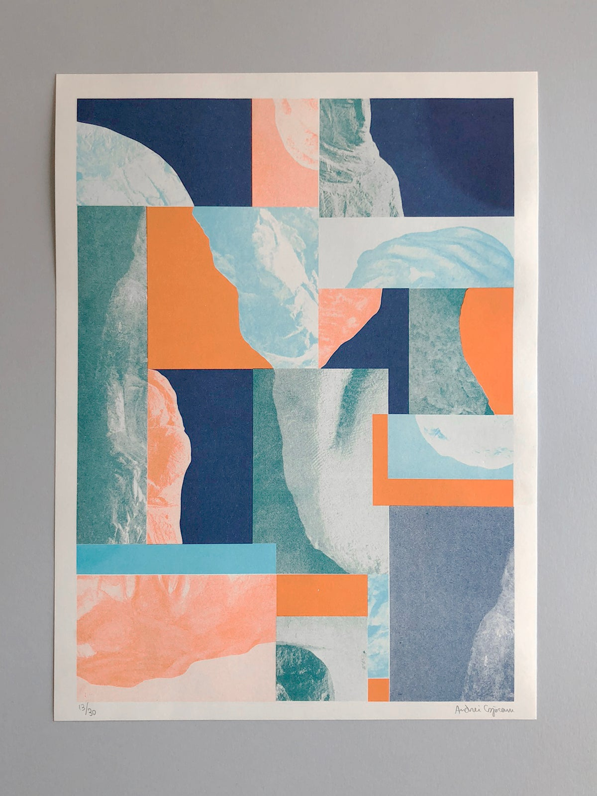 FRACTURES_002 Riso Print