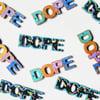 Afro-Pop Graffiti Earrings