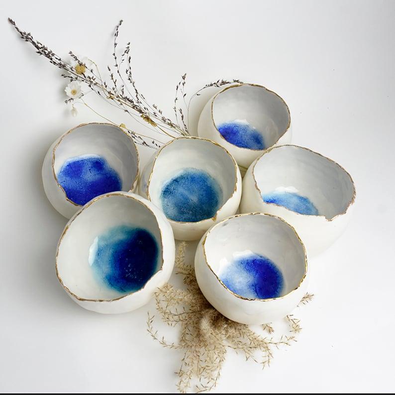 Image of Porcelain candle holder
