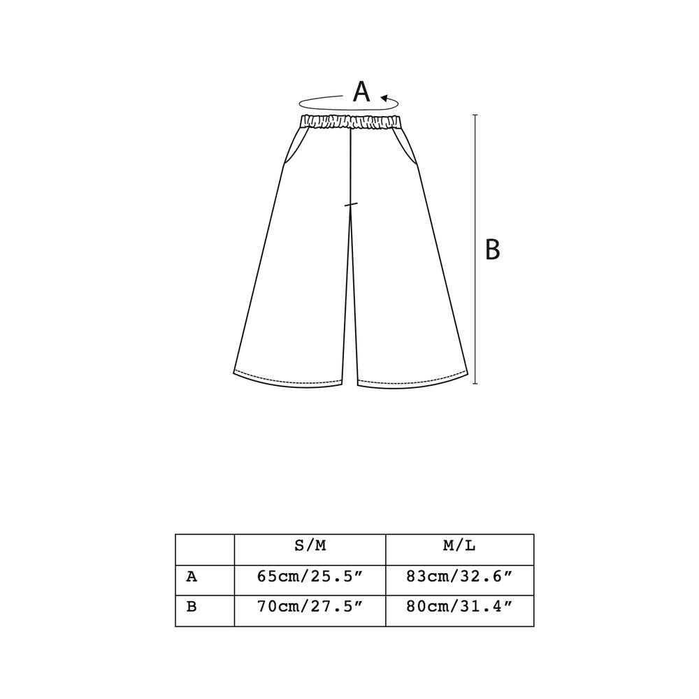 Image of cruda gaucho pants