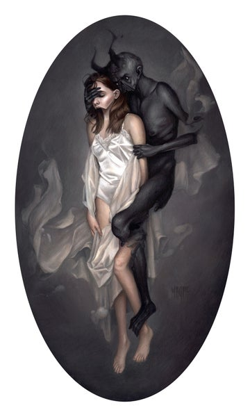"Image of ""Sleep Paralysis"" Limited Edition Giclee Print"