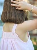 Image 5 of Hand Smocked Strawberry Sun Dress
