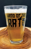 "Image of Land of the Rats ""Jack Natari"" 16 oz. pub glass"