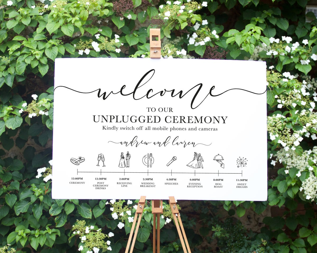 Unplugged Ceremony Timeline