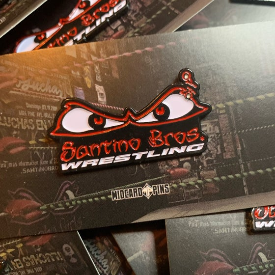 Image of Santino Bros. Logo Pin