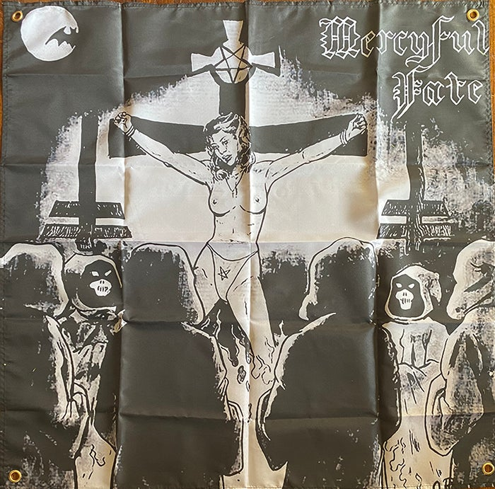 Image of Mercyful Fate ‎–  Flag /  Banner / Tapestry