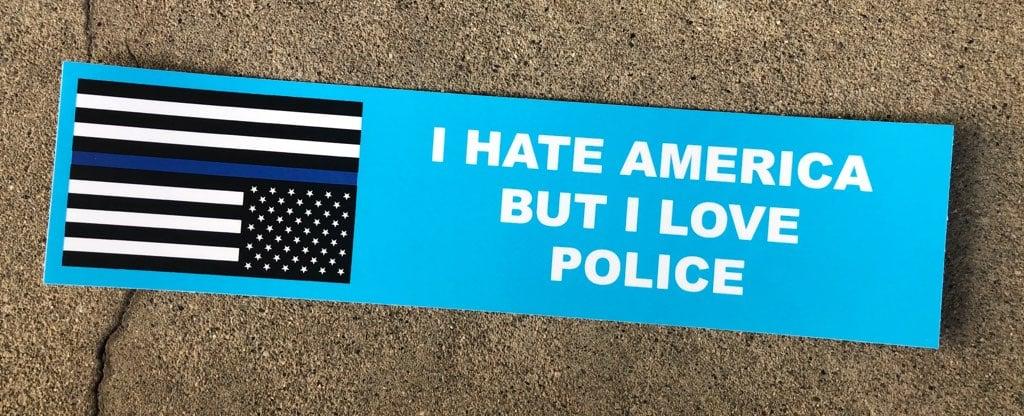 I LOVE POLICE