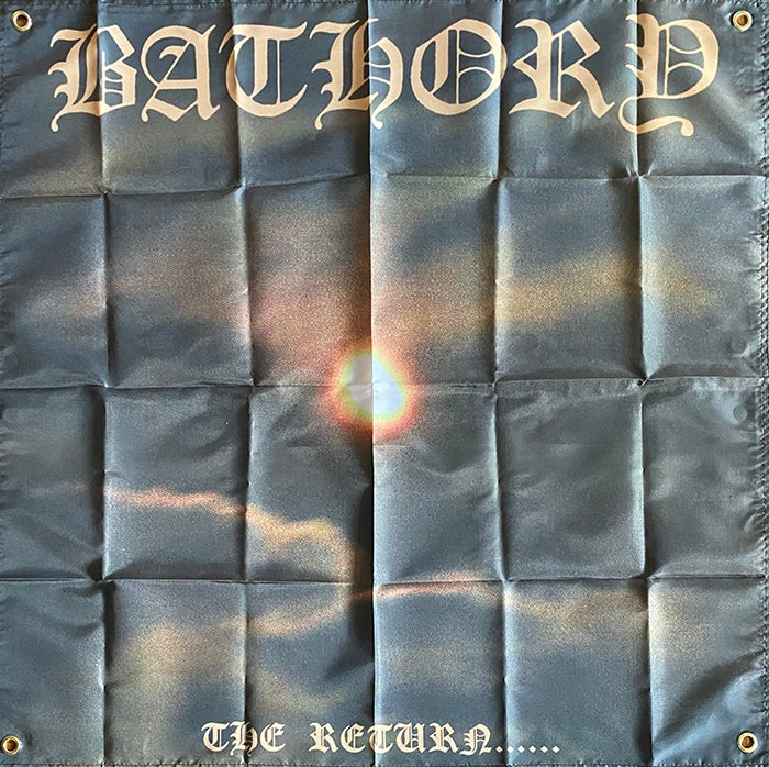 Image of Bathory - The Return - Banner / Tapestry / Flag