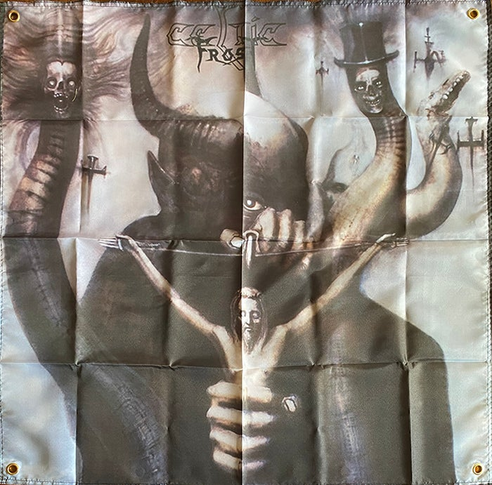 "Image of Celtic Frost "" To Mega Therion ""  Flag / Banner / Tapestry"