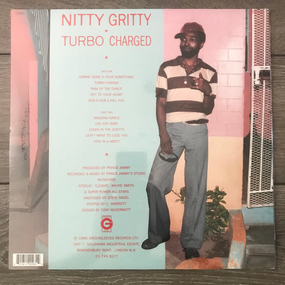 Image of Nitty Gritty - Turbo Charged Vinyl LP