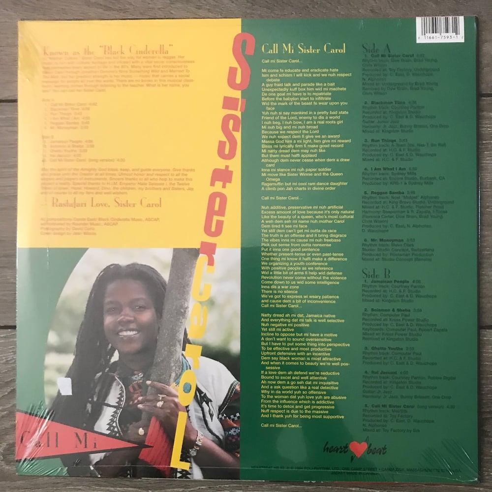 Image of Sister Carol Call Mi Sister Carol Vinyl LP