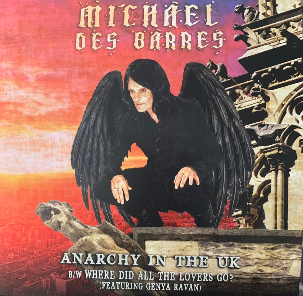Image of Anarchy in the U.K. Autographed Single