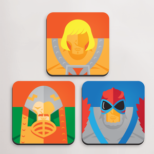 Minimals of the Universe, Coaster Set