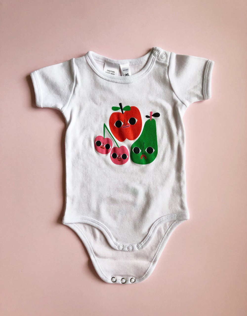 Image of Fruity Peach Bum Rompers