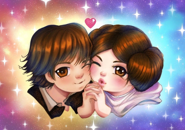 Image of Star Lovers - Print
