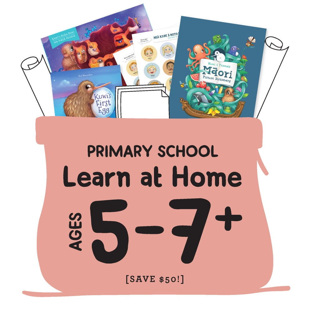 Learn at Home Kete [Primary Aged, 5-7+]