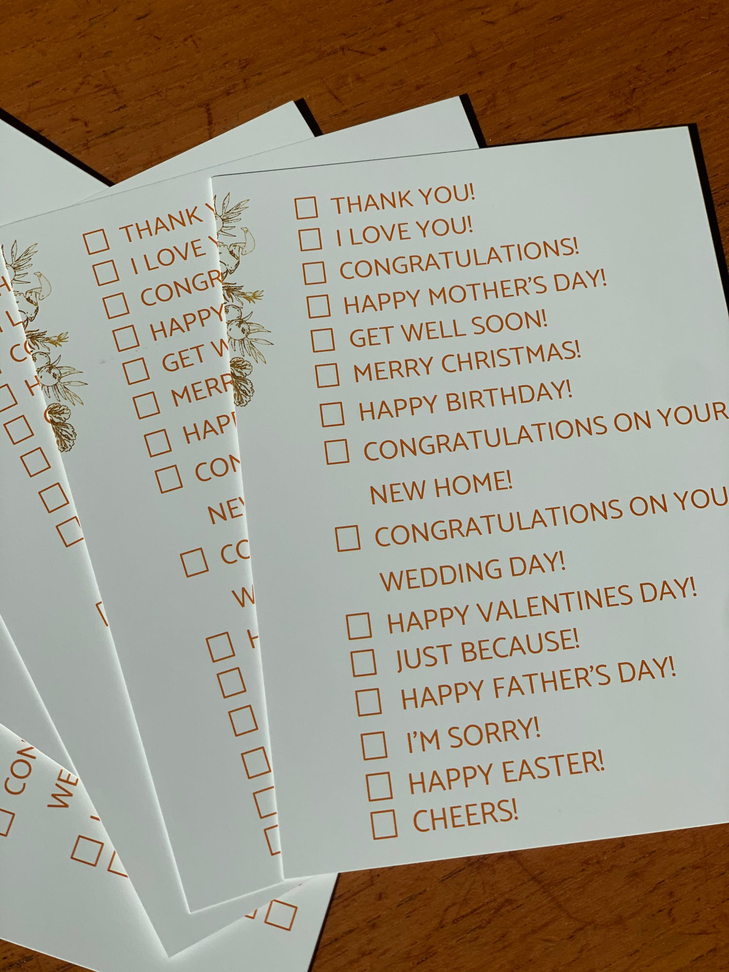 Image of EVERY OCCASION CARD!
