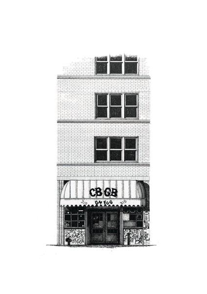 Image of CBGB's New York