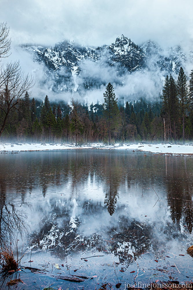 Image of High quality print Yosemite  50x70 or 70x100cm
