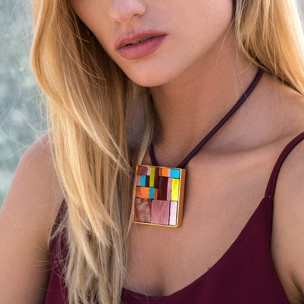 Image of Paul klee Necklace