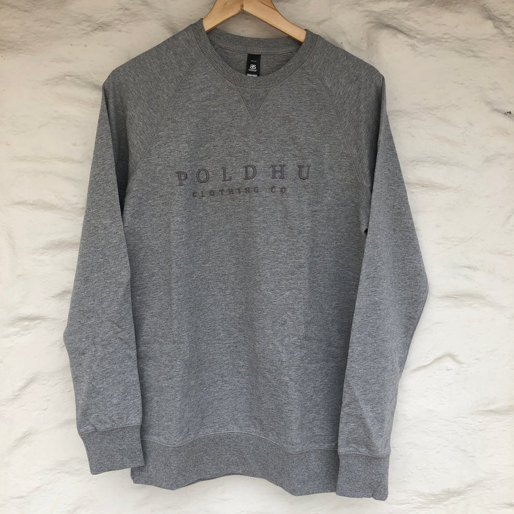 HEATHER GREY UNISEX SWEATSHIRT