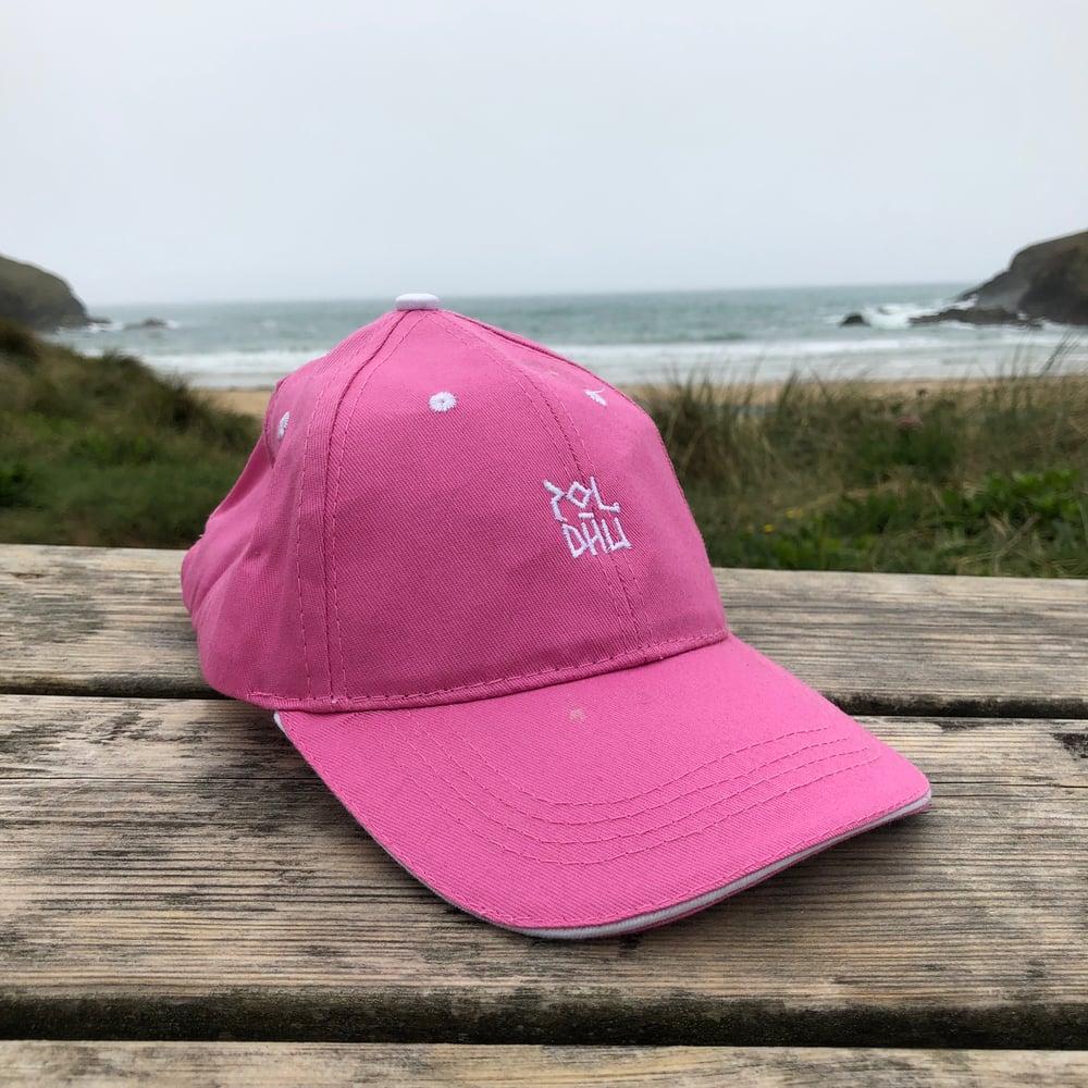 KIDS COTTON CAP - Pink