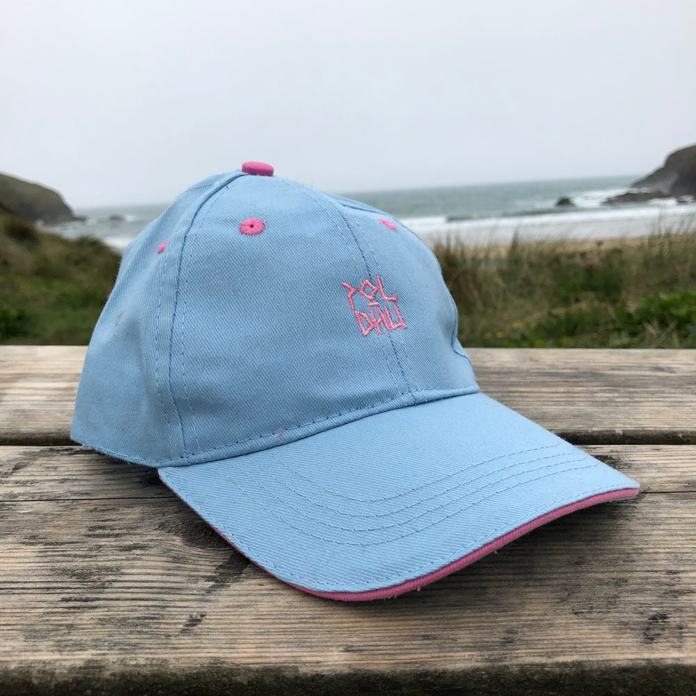 KIDS COTTON CAP - Pale Blue