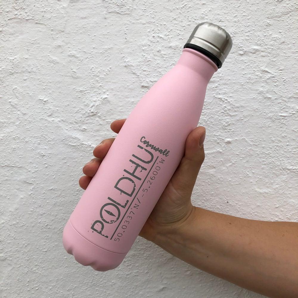 Vacuum Bottle 500ml • Pink • CO-ORD LOGO