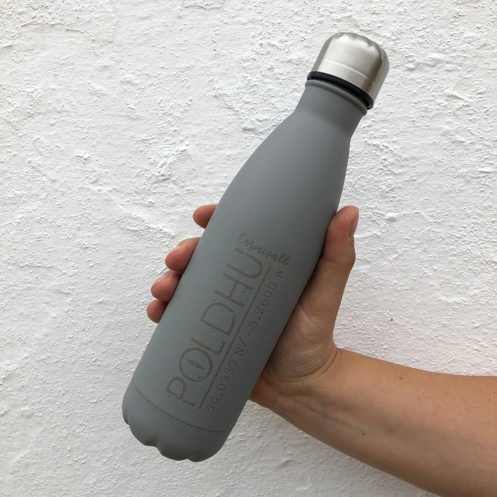 Vacuum Bottle 500ml • Grey • CO-ORD LOGO