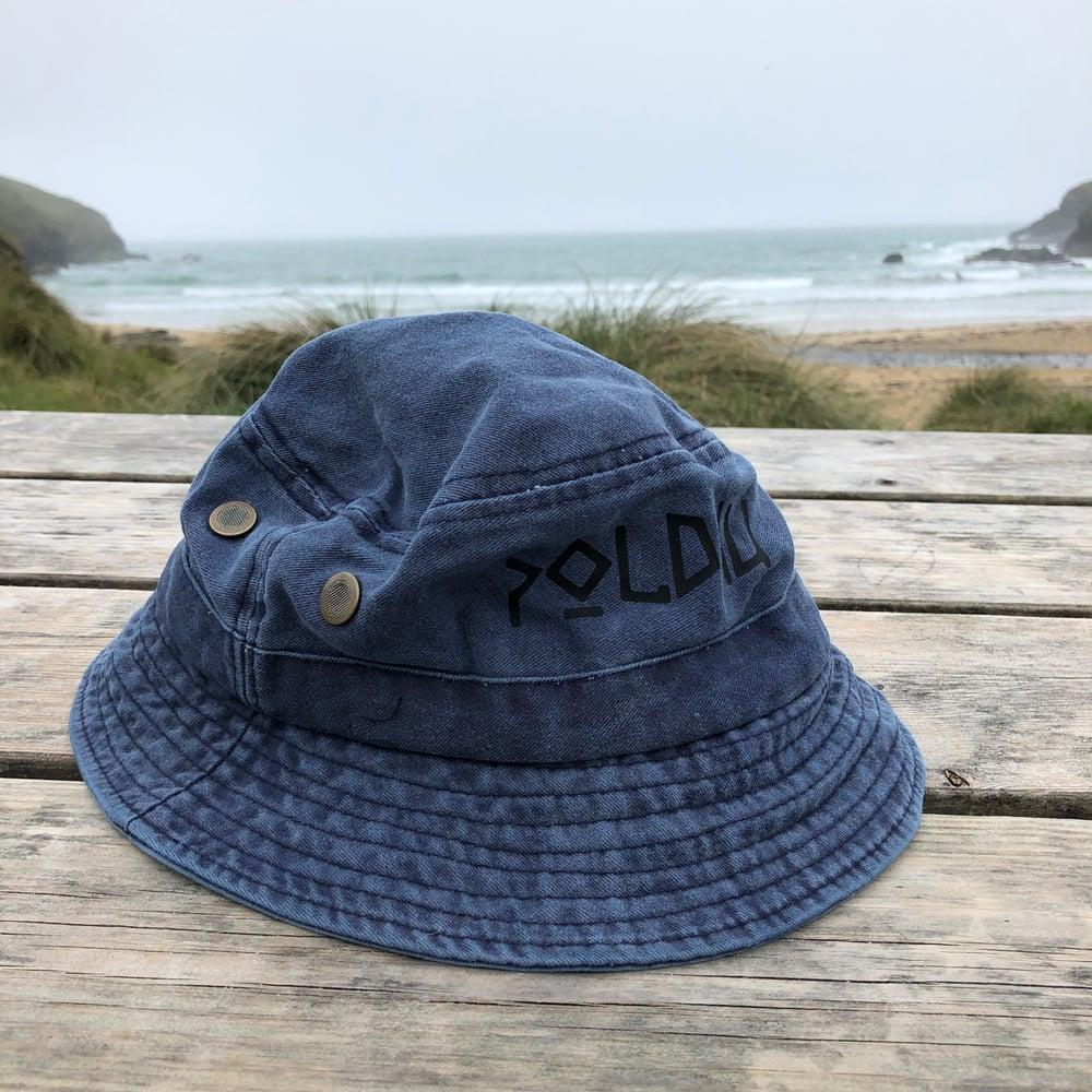 WASHED BUCKET HAT - DARK BLUE