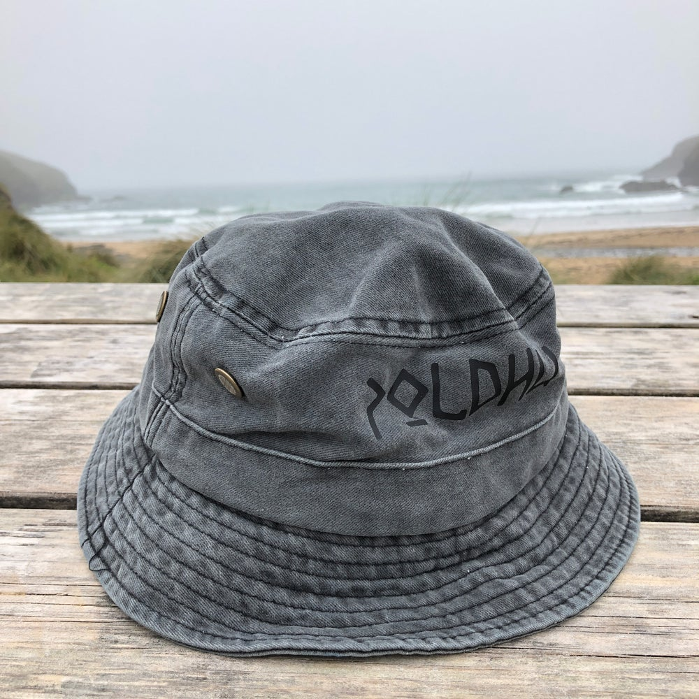 WASHED BUCKET HAT - GREY