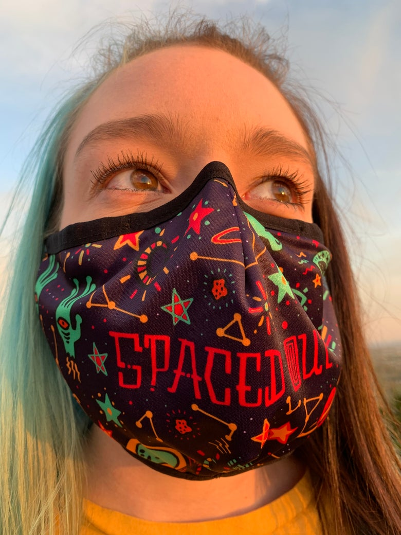 Image of KOOZ - Spaced Out Mask