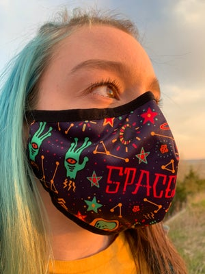 KOOZ - Spaced Out Mask (Buy 1, Get 1 Free)
