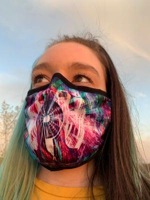 Papa Bear - City Skies Mask (Buy 1, Get 1 Free)
