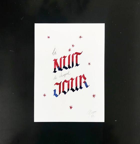 Image of NUIT de JOUR - original
