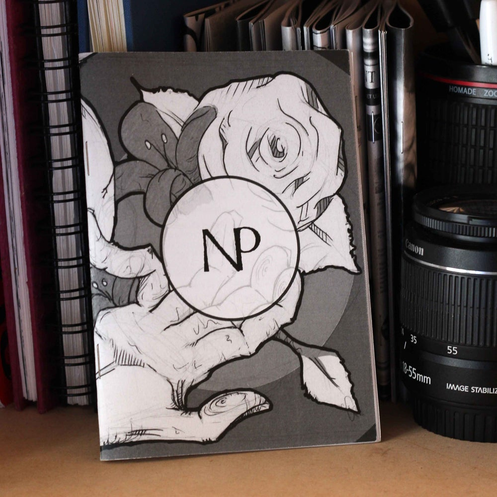 Null point Zine A6 back editions