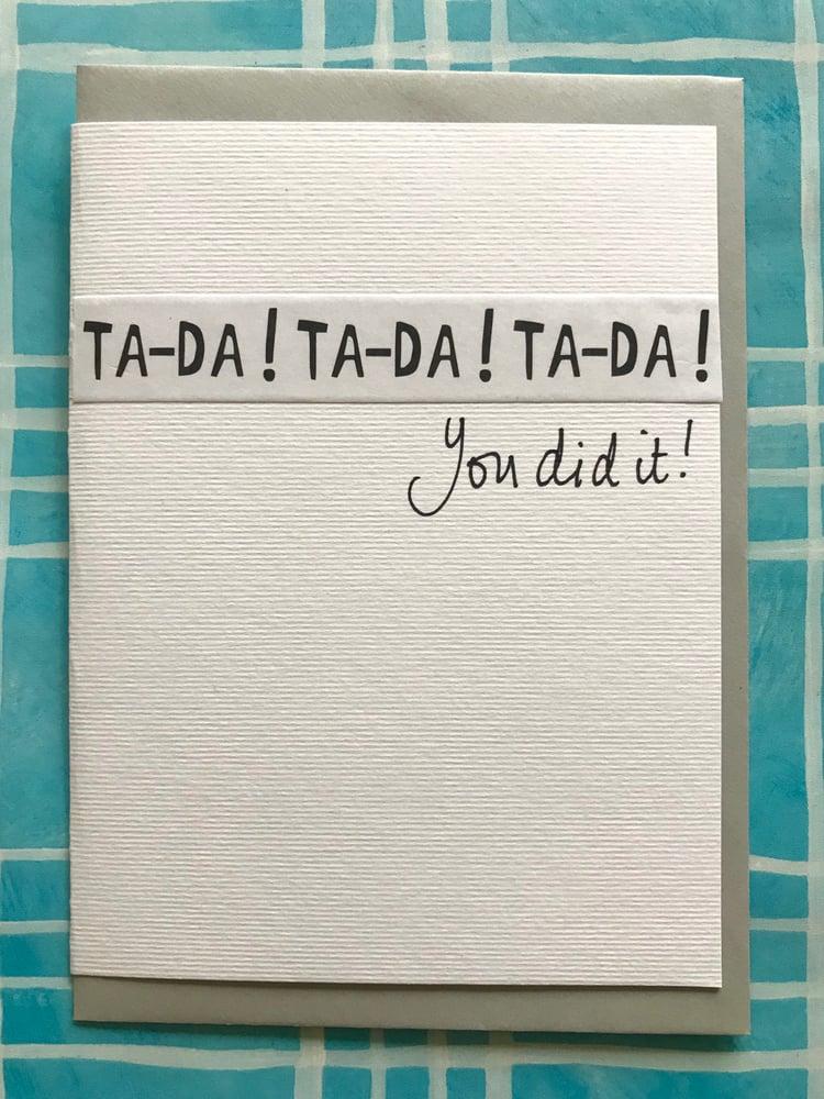 Image of Ta-da!