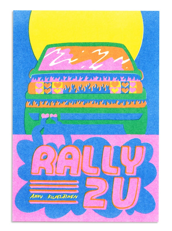 Image of Rally 2U Zine