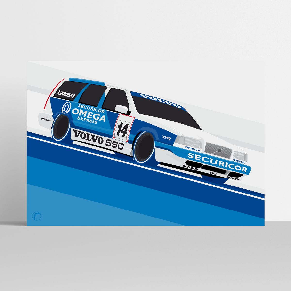 Image of Volvo 850 Racing | Lammers